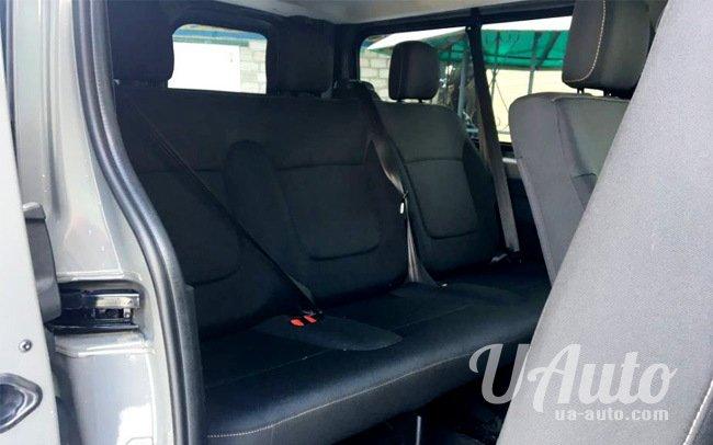аренда авто Микроавтобус Renault Trafic New в Киеве