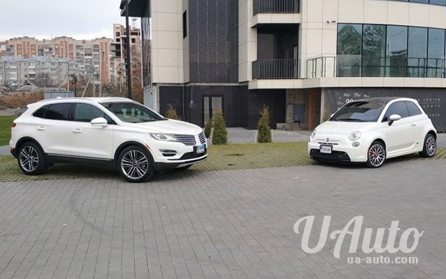 аренда авто Lincoln MKX в Киеве
