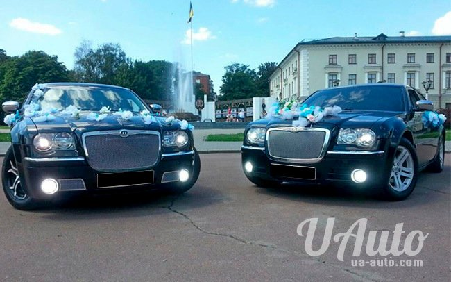 аренда авто Chrysler 300C в Киеве