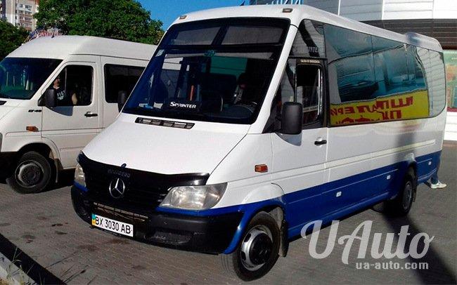 аренда авто Микроавтобус Mercedes Sprinter 413 в Киеве