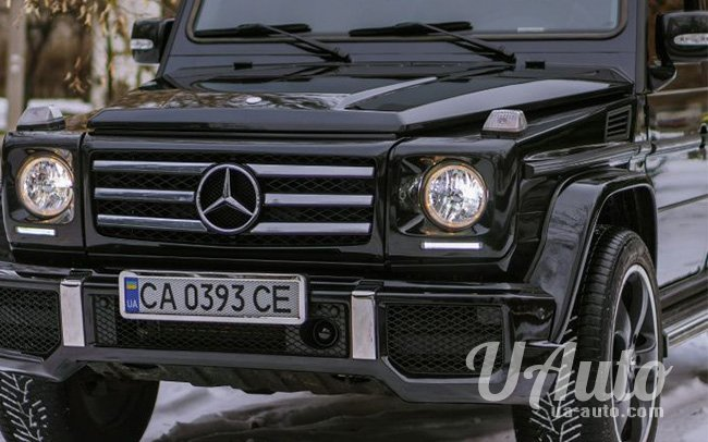 аренда авто Mercedes G-Class в Киеве