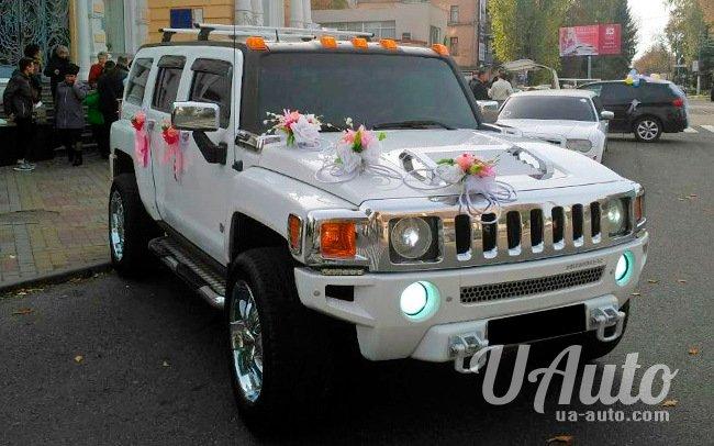 аренда авто Hummer H2 в Киеве