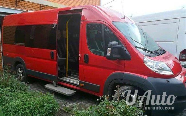 аренда авто Микроавтобус Peugeot Boxer в Киеве