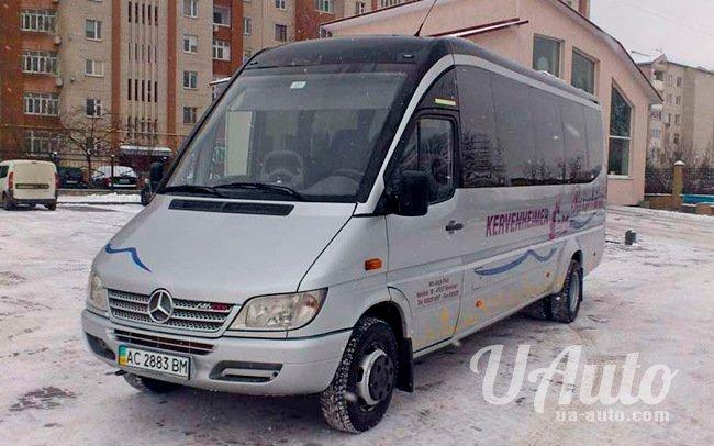 аренда авто Микроавтобус Mercedes Sprinter 616 в Киеве