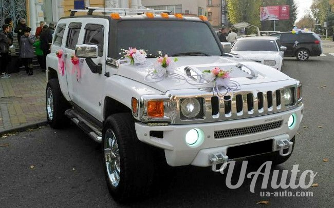 аренда авто Hummer H3 в Киеве