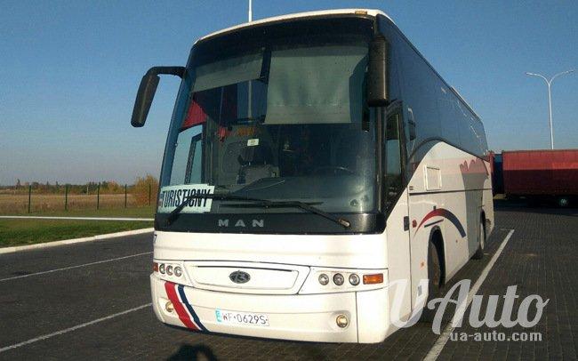 аренда авто Автобус MAN 18.410 в Киеве