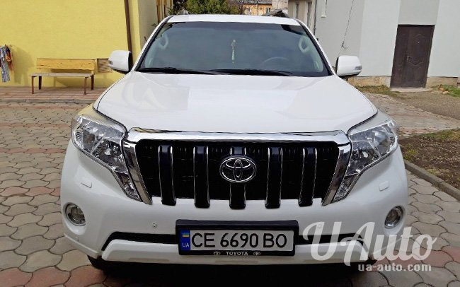 аренда авто Toyota Land Cruiser Prado в Киеве