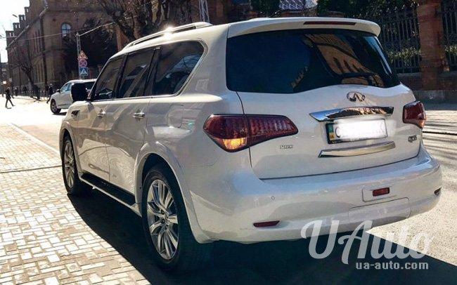 аренда авто Infinity QX56 в Киеве