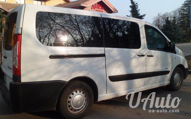 аренда авто Микроавтобус Citroen Jumpy в Киеве