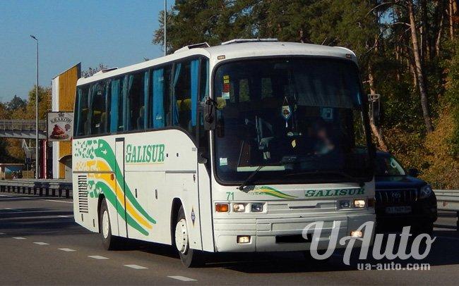 аренда авто Автобус Scania Pegaso 5226 в Киеве
