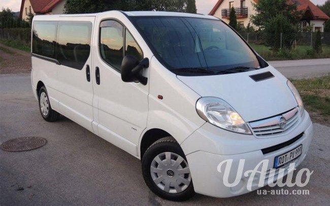аренда авто Микроавтобус Opel Vivaro на свадьбу