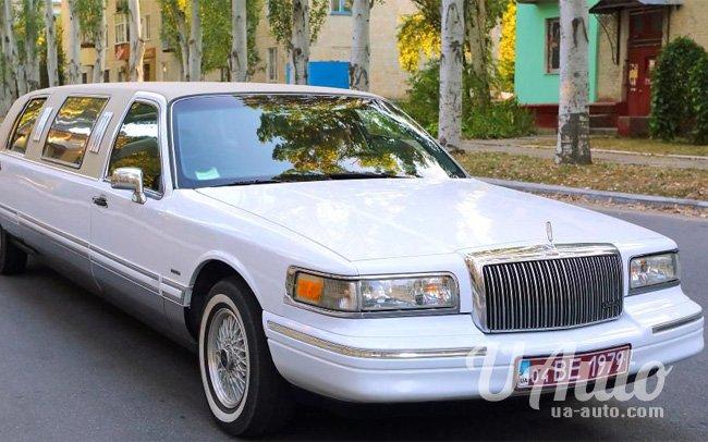 аренда авто Лимузин Lincoln Town Car на свадьбу