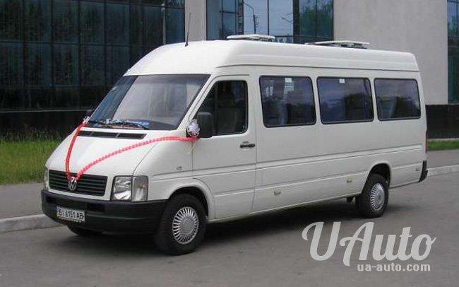 аренда авто Микроавтобус Volkswagen LT на свадьбу