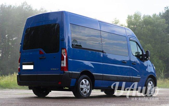 аренда авто Микроавтобус Renault Master в Киеве