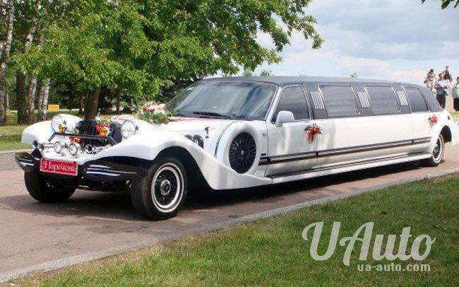 аренда авто Лимузин Excalibur на свадьбу
