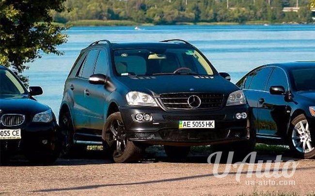 аренда авто Mercedes ML 350 Brabus в Киеве