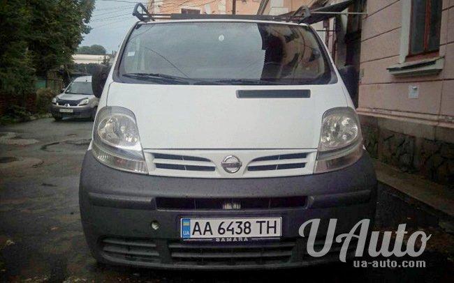 аренда авто Микроавтобус Nissan Primastar в Киеве
