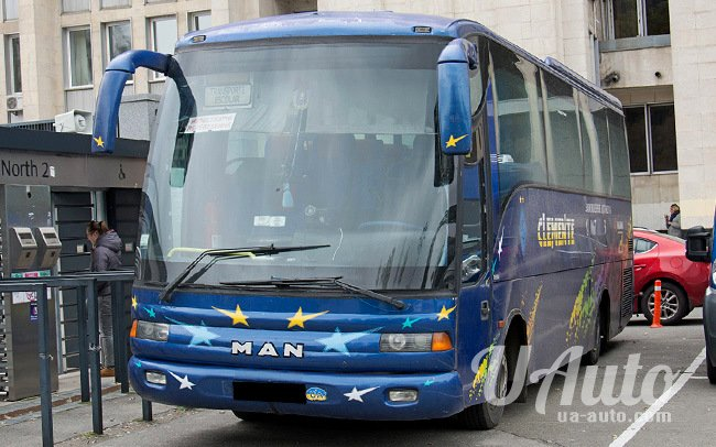 аренда авто Автобус MAN 9.150 в Киеве
