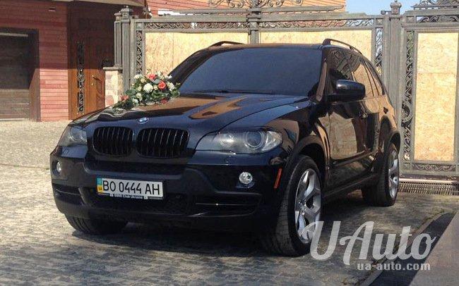 аренда авто BMW X5 на свадьбу