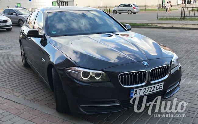 аренда авто BMW 5 F10 в Киеве