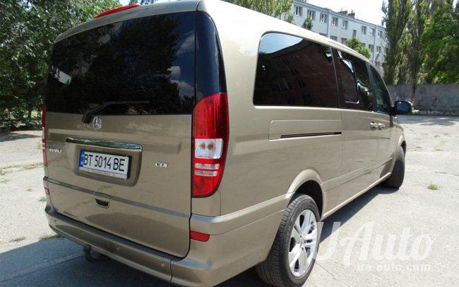 аренда авто Микроавтобус Mercedes Viano в Киеве