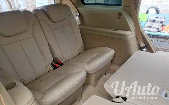 аренда авто Mercedes GL550 в Киеве