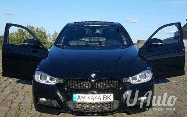 аренда авто BMW 3 F30 в Киеве