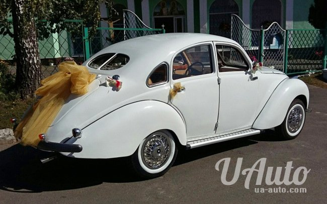 аренда авто Ретро Adler Stromform в Киеве