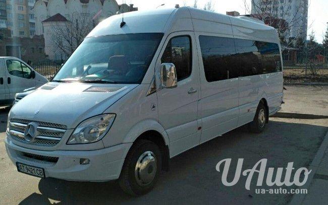 аренда авто Микроавтобус Mercedes Sprinter 519 VIP в Киеве