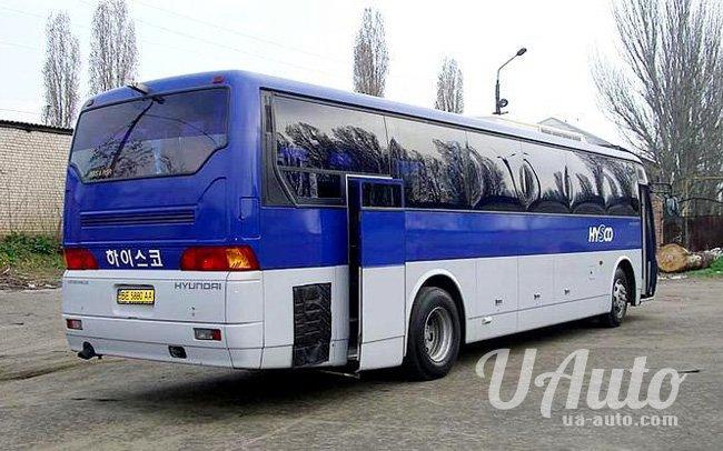 аренда авто Автобус Hyundai AeroSpace LD в Киеве