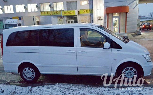 аренда авто Микроавтобус Mercedes Vito Long в Киеве