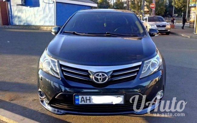 аренда авто Toyota Avensis Рестайл в Киеве