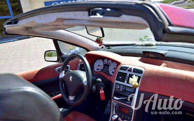 аренда авто Кабриолет Peugeot 307 CC в Киеве