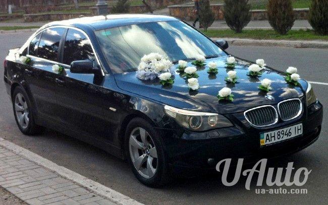 аренда авто BMW 5 E60 в Киеве