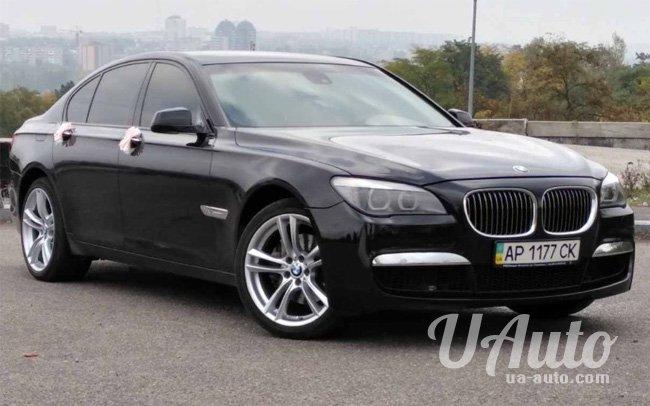 аренда авто BMW 7 F01 в Киеве