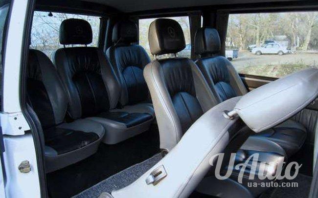 аренда авто Микроавтобус Mercedes Vito 108 в Киеве