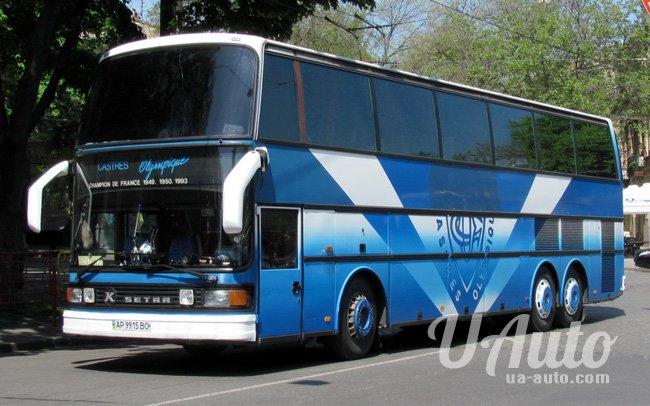 аренда авто Автобус Setra S 216 HDS в Киеве