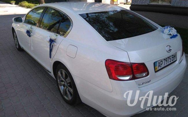 аренда авто Lexus GS 300 в Киеве