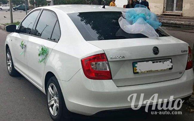 аренда авто Skoda Rapid в Киеве