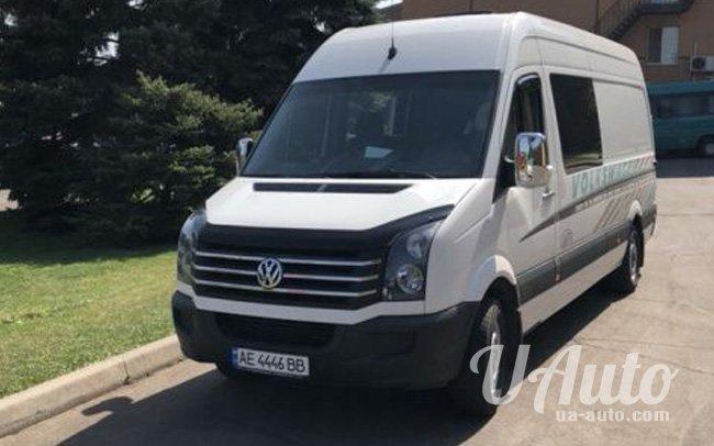 аренда авто Микроавтобус Volkswagen Crafter на свадьбу
