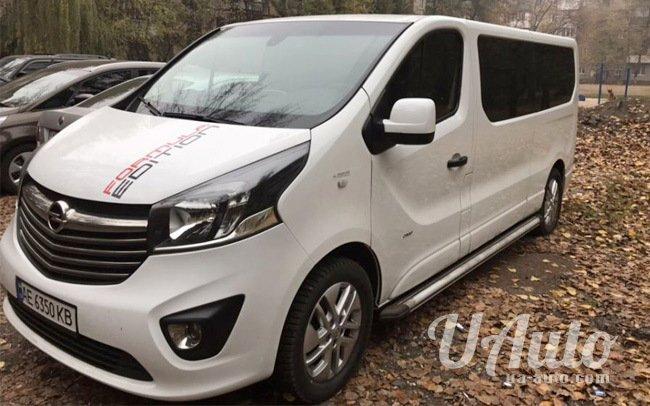 аренда авто Микроавтобус Opel Vivaro New на свадьбу