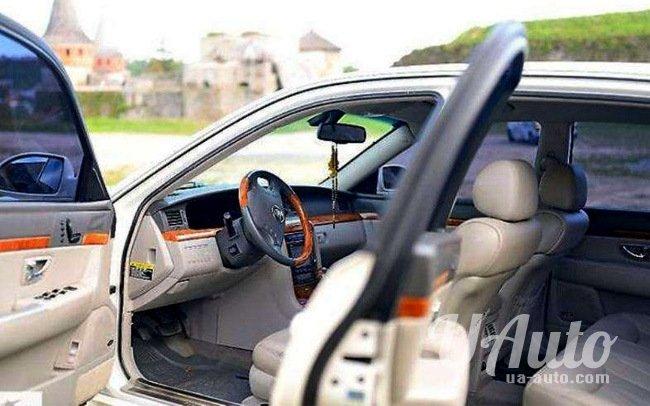 аренда авто Kia Opirus (Jaguar Style) в Киеве