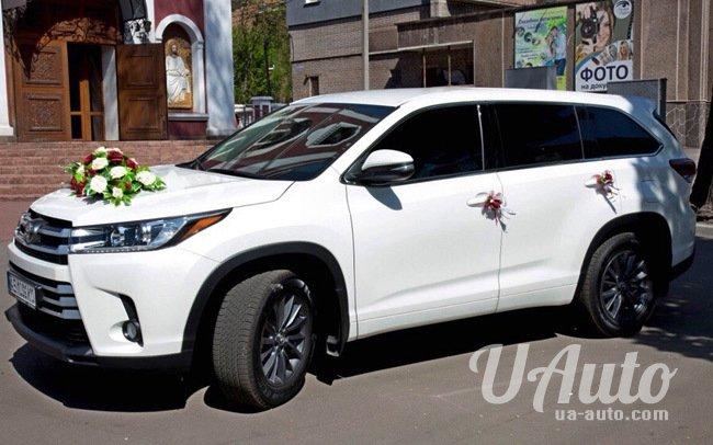 аренда авто Toyota Highlander в Киеве
