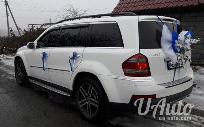 аренда авто Mercedes GL 500 в Киеве