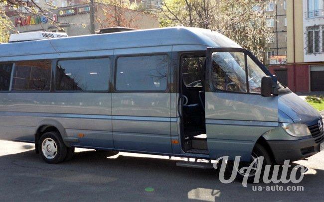 аренда авто Микроавтобус Mercedes Sprinter 416 Long в Киеве