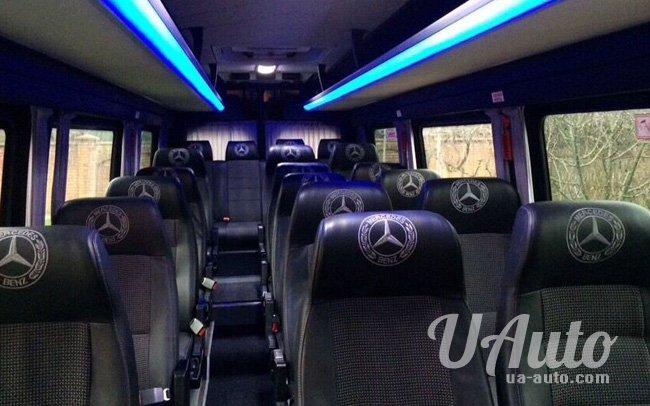 аренда авто Автобус Mercedes Sprinter VIP в Киеве