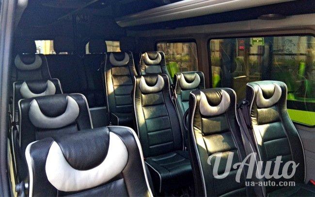 аренда авто Микроавтобус Mercedes Sprinter VIP в Киеве