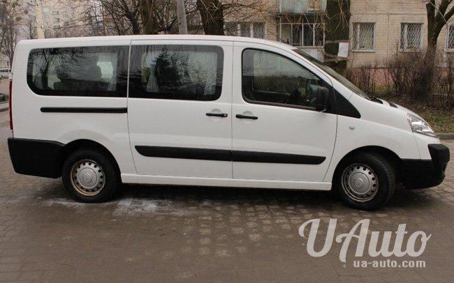 аренда авто Микроавтобус Fiat Scudo в Киеве