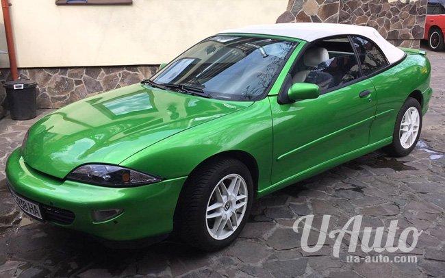аренда авто Ретро Кабриолет Chevrolet Cavalier в Киеве