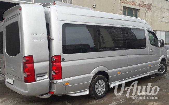 аренда авто Микроавтобус Volkswagen Crafter VIP в Киеве